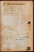 """Autographs:Others, 1935 """"Who's Who In The Major Leagues"""" Signed Book With 10Signatures...."""