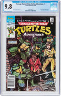 Modern Age (1980-Present):Superhero, Teenage Mutant Ninja Turtles Adventures #1 (Archie, 1988) CGC NM/MT9.8 White pages....