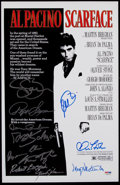 Miscellaneous Collectibles:General, Scarface Multi-Signed Poster (11 Signatures)....