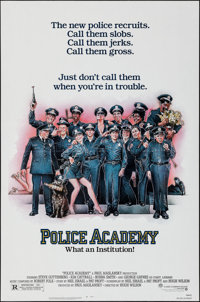 "Police Academy & Others Lot (Warner Brothers, 1984). One Sheets (4) (27"" X 41""). Comedy. ... (Total: 4 Ite..."