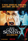 """Movie Posters:Sports, Any Given Sunday & Others Lot (Warner Brothers, 1999). One Sheets (4) (27"""" X 40"""" & 27"""" X 41""""). Sports.. ... (Total: 4 Items)"""