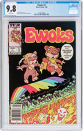 Modern Age (1980-Present):Science Fiction, Ewoks #1 (Marvel, 1985) CGC NM/MT 9.8 White pages....