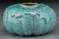 Asian:Chinese, A Chinese Robin's Egg-Glazed Porcelain Brush Washer, late QingDynasty. 2-3/4 inches diameter (7.0 cm). ...