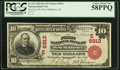 National Bank Notes:Pennsylvania, West Middlesex, PA - $10 1902 Red Seal Fr. 613 The First NB Ch. #(E)6913. ...