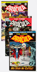 Bronze Age (1970-1979):Horror, Tomb of Dracula Group of 43 (Marvel, 1972-76) Condition: AverageFN.... (Total: 43 Comic Books)