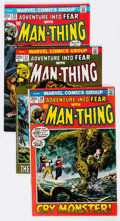 Bronze Age (1970-1979):Horror, Fear Group of 22 (Marvel, 1972-75) Condition: Average VG/FN....(Total: 22 Comic Books)