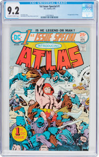 1st Issue Special #1 Atlas (DC, 1975) CGC NM- 9.2 Off-white to white pages