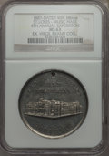 Expositions and Fairs, 1887 MS 4th Annual St. Louis Exposition and Music Hall Souvenir,St. Louis, Missouri MS63 NGC. White Metal. 38 mm. Holed as...