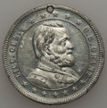 U.S. Presidents & Statesmen, 1865 MS Richmond Captured, General U.S. Grant, Unc Uncertified.White metal, 31 mm. Holed for suspension. This cross-over p...