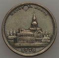 Expositions and Fairs, 1876 MS Philadelphia International Exhibition, Memorial Medal, Very Fine Uncertified. 24 mm. The composition is uncertain. ...