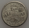 20th Century Tokens and Medals, Undated MS The Marshfield, Minneapolis, MN AU Uncertified. Nickel,21 mm. Good for 5 cents in trade, this token has light n...