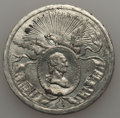 (1832) MS Philadelphia Civil Procession, Baker-160, GW-130, R.2, AU Details. White Metal, 33 mm. Light gray with minor s...
