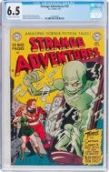 Golden Age (1938-1955):Science Fiction, Strange Adventures #10 (DC, 1951) CGC FN+ 6.5 Off-white to whitepages....