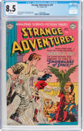 Golden Age (1938-1955):Science Fiction, Strange Adventures #20 (DC, 1952) CGC VF+ 8.5 White pages....