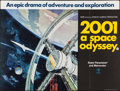"Movie Posters:Science Fiction, 2001: A Space Odyssey (MGM, 1968). British Quad (30"" X 40"") StyleA. Science Fiction.. ..."