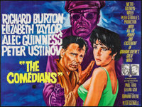 """The Comedians & Other Lot (MGM, 1967). British Quads (2) (30"""" X 40""""). Drama. ... (Total: 2 Items)"""
