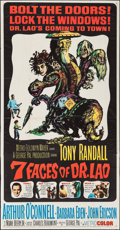 """Movie Posters:Fantasy, The 7 Faces of Dr. Lao (MGM, 1964). Three Sheet (41"""" X 79"""").Fantasy.. ..."""