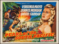 "Movie Posters:Adventure, Pearl of the South Pacific (RKO, 1955). British Quad (30"" X 40"").Adventure.. ..."