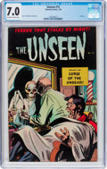 Golden Age (1938-1955):Horror, The Unseen #15 (Standard, 1954) CGC FN/VF 7.0 Off-white to whitepages....