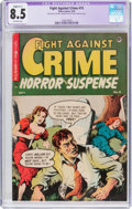 Golden Age (1938-1955):Crime, Fight Against Crime #15 (Story Comics, 1953) CGC Apparent VF+ 8.5 Slight (C-1) Off-white pages....