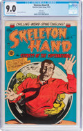 Golden Age (1938-1955):Horror, Skeleton Hand #6 River City Pedigree (ACG, 1953) CGC VF/NM 9.0Off-white to white pages....