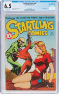 Golden Age (1938-1955):Science Fiction, Startling Comics #46 (Better Publications, 1947) CGC FN+ 6.5 Whitepages....