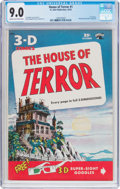 Golden Age (1938-1955):Horror, House of Terror #1 (St. John, 1953) CGC VF/NM 9.0 Cream tooff-white pages....