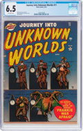 Golden Age (1938-1955):Horror, Journey Into Unknown Worlds #11 (Atlas, 1952) CGC FN+ 6.5 Off-whitepages....