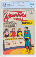 Silver Age (1956-1969):Superhero, Adventure Comics #247 (DC, 1958) CBCS VG- 3.5 Off-white to white pages....