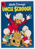 Silver Age (1956-1969):Humor, Uncle Scrooge #13 (Dell, 1956) Condition: VF/NM....