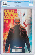 Modern Age (1980-Present):Superhero, Old Man Logan #1 (Marvel, 2016) CGC NM/MT 9.8 White pages....