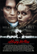 "Movie Posters:Fantasy, Sleepy Hollow (Paramount, 1999). One Sheet (26.75"" X 39.5"") DS Advance. Fantasy.. ..."