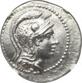 Ancients:Greek, Ancients: ATTICA. Athens. Ca. 165-42 BC. AR tetradrachm (16.89gm).NGC AU 5/5 - 3/5....