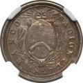 Argentina, Argentina: Republic silver Pattern Real 1827 MS63 NGC,...