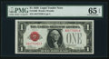 Small Size:Legal Tender Notes, Fr. 1500 $1 1928 Legal Tender Note. PMG Gem Uncirculated 65 EPQ.. ...