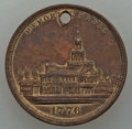 Expositions and Fairs, 1876 MS Philadelphia International Exhibition, Memorial Medal, XFUncertified. Brass, 24 mm. Holed as usual. Brown patina a...