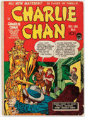 Golden Age (1938-1955):Crime, Charlie Chan #4 (Prize, 1949) Condition: VG....