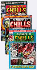 Bronze Age (1970-1979):Horror, Chamber of Chills/Chamber of Darkness Group of 23 (Marvel, 1972-76)Condition: Average VG+.... (Total: 23 Comic Books)