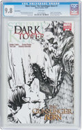 Modern Age (1980-Present):Science Fiction, Dark Tower: The Gunslinger Born #7 Sketch Cover Variant (Marvel,2007) CGC NM/MT 9.8 White pages....