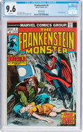 Bronze Age (1970-1979):Horror, Frankenstein #9 White Mountain Pedigree (Marvel, 1974) CGC NM+ 9.6White pages....