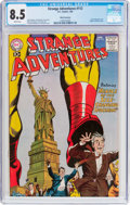 Silver Age (1956-1969):Science Fiction, Strange Adventures #112 White Mountain Pedigree (DC, 1960) CGC VF+ 8.5 White pages....