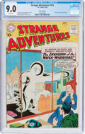 Silver Age (1956-1969):Mystery, Strange Adventures #116 White Mountain Pedigree (DC, 1960) CGCVF/NM 9.0 White pages....