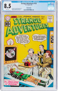 Silver Age (1956-1969):Science Fiction, Strange Adventures #132 White Mountain Pedigree (DC, 1961) CGC VF+ 8.5 White pages....