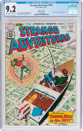 Silver Age (1956-1969):Science Fiction, Strange Adventures #135 White Mountain Pedigree (DC, 1961) CGC NM-9.2 Off-white to white pages....