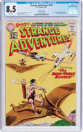 Silver Age (1956-1969):Science Fiction, Strange Adventures #147 White Mountain Pedigree (DC, 1962) CGC VF+ 8.5 White pages....