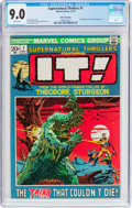 Bronze Age (1970-1979):Science Fiction, Supernatural Thrillers #1 (Marvel, 1972) CGC VF/NM 9.0 Whitepages....
