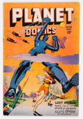 Golden Age (1938-1955):Science Fiction, Planet Comics #48 (Fiction House, 1947) Condition: VG/FN....