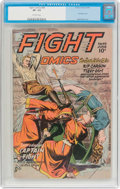 Golden Age (1938-1955):War, Fight Comics #44 (Fiction House, 1946) CGC VF- 7.5 Off-whitepages....