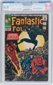 Fantastic Four #52 (Marvel, 1966) CGC VG 4.0 Cream to off-white pages