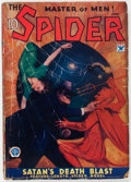 Pulps:Hero, The Spider - June 1934 (Popular) Condition: VG-....